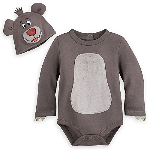 Disney Baloo Costume Bodysuit for Baby - The Jungle Book Size 6-9 MO -