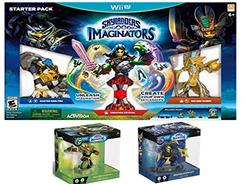 Skylanders Imaginators - Wii U Starter Pack, including Master Ambush and Master Starcast Skylanders by DVChil