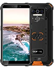 "$149 » OUKITEL WP5(2020) Unlocked Cell Phone 8000mAh Rugged Smartphone Android 10.0 IP68 Waterproof 4GB+32GB Dual SIM 5.5"" Face ID Fingerprint Global 4G LTE GSM AT&T T-Mobile(Black)"