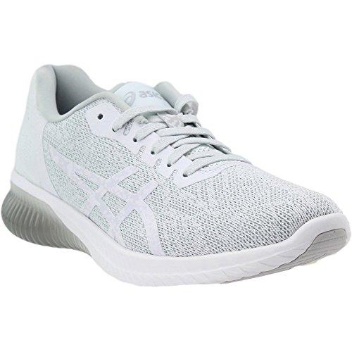 Chaussures De Course Gel-kenun Asics Womens Blanc / Blanc / Glacier Gris