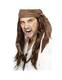 Smiffys Buccanneer Pirate Wig