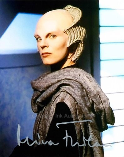 MIRA FURLAN as Delenn - Babylon 5 Genuine Autograph from Celebrity Ink