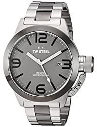 TW Steel Men's CB202 Analog Display Quartz Two Tone Watch