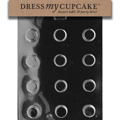 Dress My Cupcake Chocolate Candy Mold, Small Peanut Butter Cup