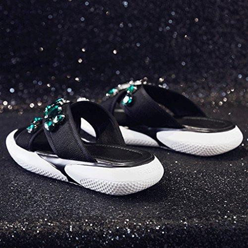 Donna Estate Pantofole 0 Abbigliamento dimensioni 6 moda Sandali Scarpe sportive n55zE
