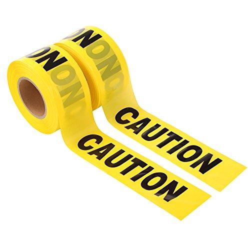 Yellow Barricade Tape - 9