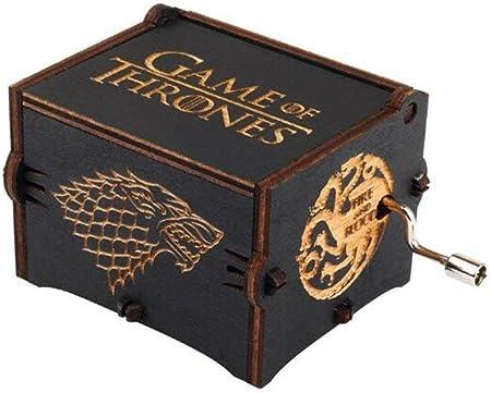 Mano Pura Juego de Tronos Clásico Caja de Música Mano Caja de Música de Madera Artesanía de Madera Creativa Mejores Regalos: Amazon.es: Hogar