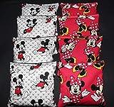 BackYardGamesUSA Mickey Mouse & Minnie 8 ACA Regulation Cornhole Bean Bags Corn Toss Handmade!