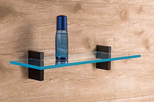 Design Glas Bodenträger Klemm Tablarträger Sekonda Aus Metall