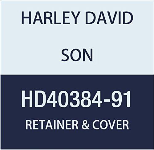 ハーレーダビッドソン(HARLEY DAVIDSON) RETAINER & COVER ASSY W/SPRING WSHR HD40384-91