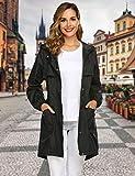 Avoogue Rain Jacket Women Waterproof Lightweight
