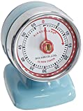 Vintage Streamline Kitchen Timer, Blue