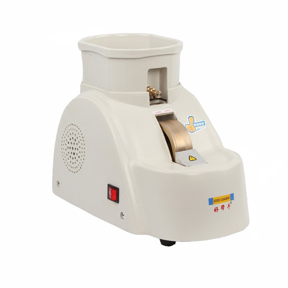 Huanyu CP-11A-35WV Optical Hand Lens Edger Manual Mill Edging Machine Processing Grinder Fine/Coarse Grinding Machine 4200r/min (AC 110V/60Hz) by Huanyu Instrument