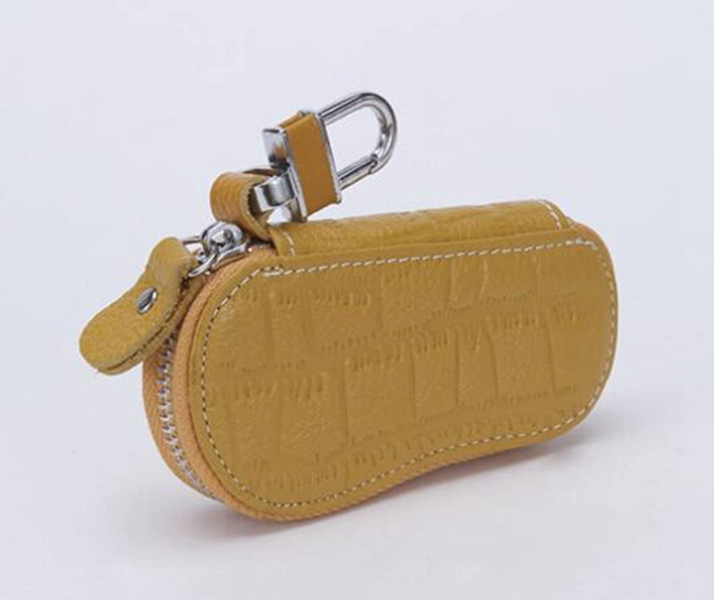 YSHB,Large-capacity door key bag,The first layer of leather door key bag,red,11.542.5CM