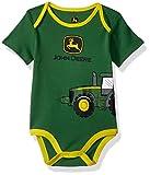 John Deere Baby Boys Bodysuit, Green, 9-12 Months