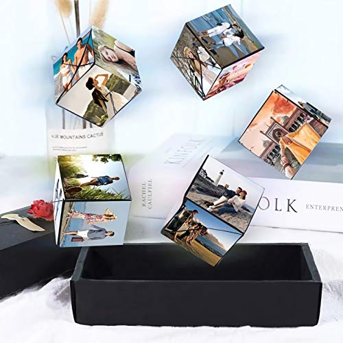 [해외]Uscharm Creative Explosion Gift Box Love Memory DIY Handmade Photo Album Scrapbook Photo Album Box Birthday Wedding Valentine`s Day Surprise Bouncing Box / Creative Explosion Gift Box, Love Memory DIY Handmade Photo Album Scrapbook...