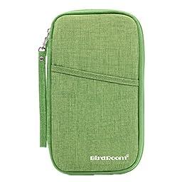 Multi-function Travel Passport Holder Credit Id Card Stash Organizer Case Bag I