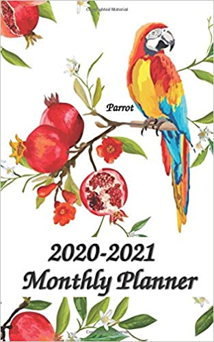 Amazon.com: 2020-2021 Planner Parrot: 5x8 inches - Two Year ...
