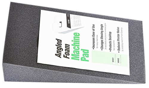 Foam Elevation Wedge Large - for Heavy-Duty Calculators, Genuine Monroe MW02 (Foam Elevation Wedge, Black)