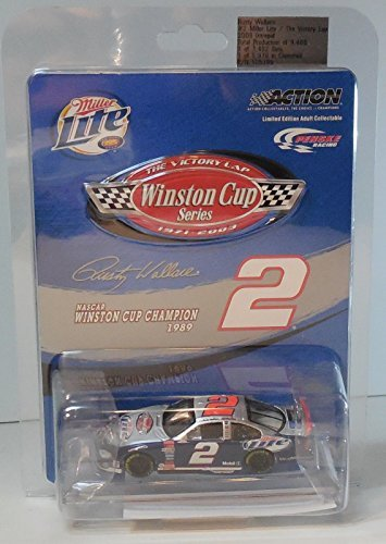 - NASCAR 2003 Rusty Wallace #2 Dodge Miller Lite Victory Lap Winston Cup Champion Logo Special Edition 1/64th Scale Action Racing Collectables ARC Limited Edition