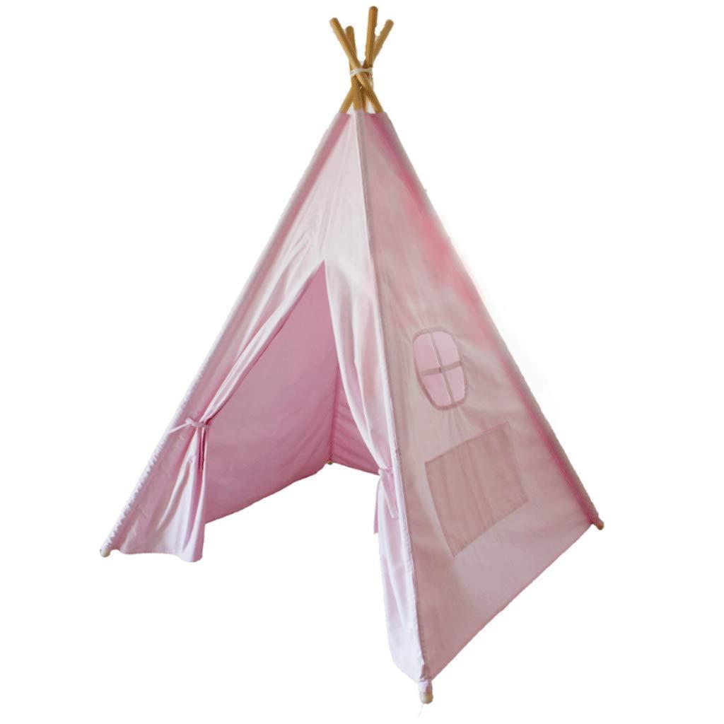 WSGZH Tente Coton Rose Indien Jeu Maison Elternteil Jouet Princesse Chambre Personnalisée