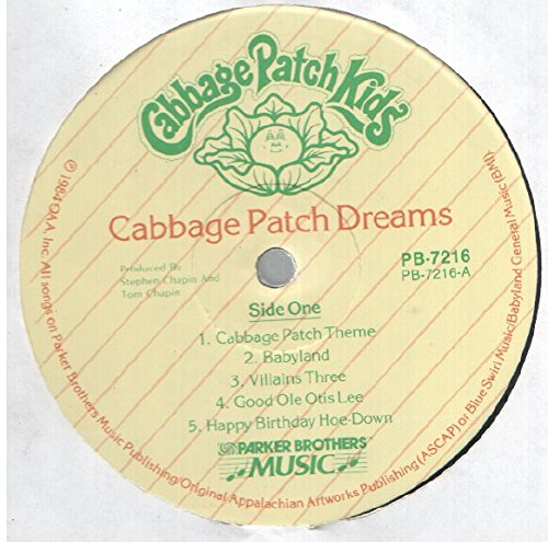 Cabbage Patch Kids: Cabbage Patch Dreams LP NM Canada Parker Brothers Music