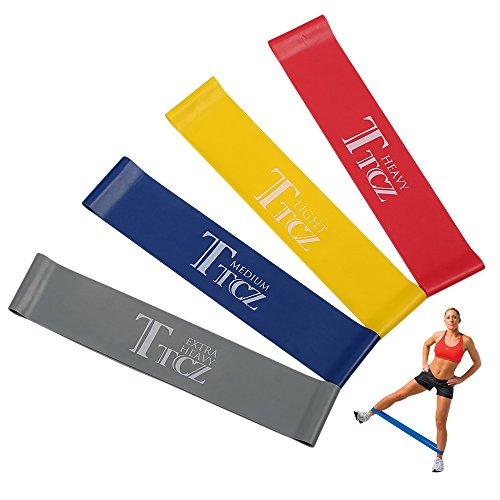 Resistance Bands Effective: Intense Fit 3 Piece Yoga Starter Kit W/Multi-Purpose 3/8