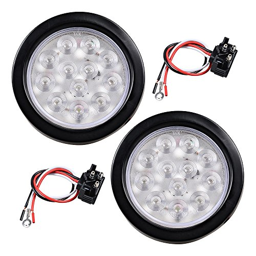 Round Led Backup Light