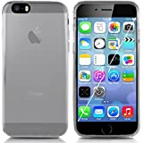 Minisuit Frost TPU Slim Rubber Grip Case for iPhone 6, 6S (Clear)