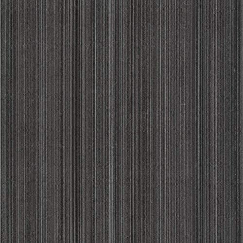 (Decorline DL30460 Suelita Charcoal Striped Texture Wallpaper Wallpaper)