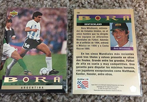 Rare BORA SELECTS SET of Upper Deck 1994 World Cup ALL SPANISH