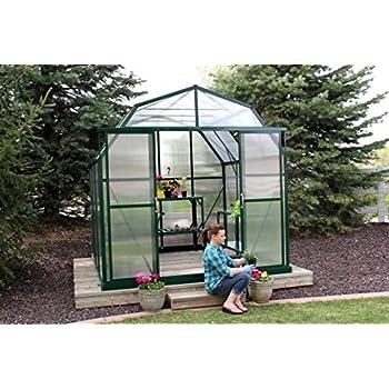 grandio elite 8x8 greenhouse kit 10mm twinwall