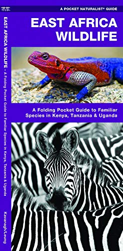 East Africa Wildlife: A Folding Pocket Guide to Familiar Species in Kenya, Tanzania & Uganda (Pocket Naturalist Guides)