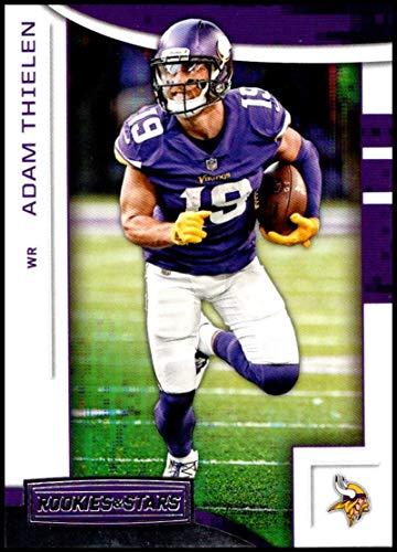 27609b0ca 2018 Panini Rookies and Stars  60 Adam Thielen NM-MT Minnesota Vikings  Official NFL Football Card