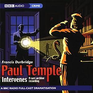 Paul Temple Intervenes Audiobook