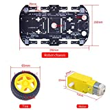 4WD Robot Chassis Kit with 4 TT Motor for