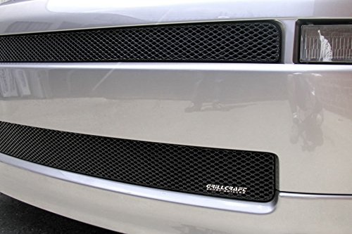 (Grillcraft TOY1851B MX Series Black Mid & Lower 2pc Mesh Grill Grille Insert for Scion XB)