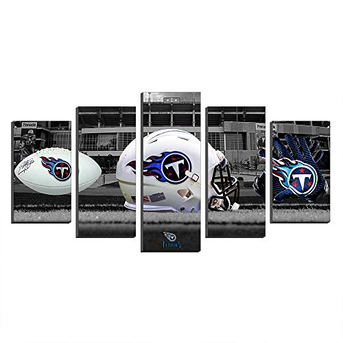 (Super Bowl Tennessee Titans Nissan Stadium NFL Football Paintings Canvas Prints Picture Wall Art Poster Artwork Decor)