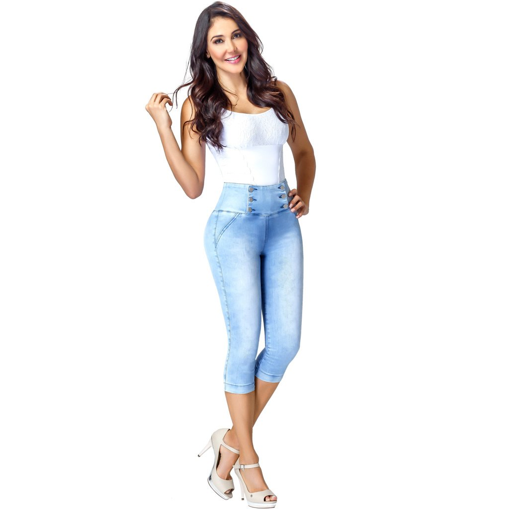 Bum And Hip Enhancing Pants Butt Lifter Jeans Colombia Levanta Cola