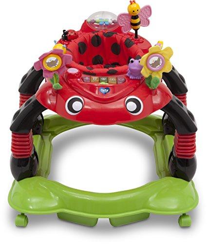 Caminador Para Bebé De Delta Children, Play Station, Rojo