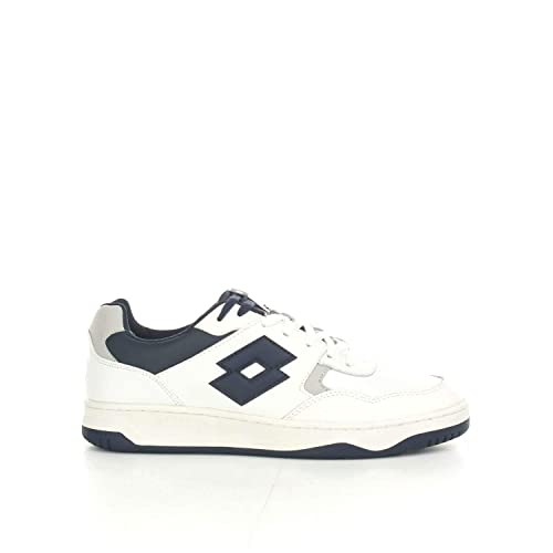 Scarpe Lotto Life s Tracer T6492 Uomo Sneakers Bassa Bianco Blu Sport  Casual - Taglia IT 41 02002d7109d