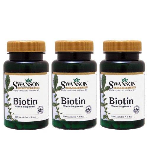 Swanson Biotin 5mg 100caps (3)