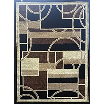 Amazon Com Americana Modern Area Rug Contemporary Brown