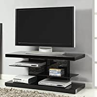 Coaster Home Furnishings 700840 Contemporary TV Console, Black