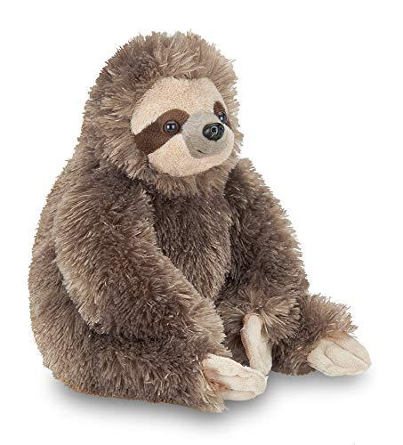 Bearington Speedy Plush Three Toed Sloth Stuffed Animal, 12 inches (Large Stuffed Animal Sloth)