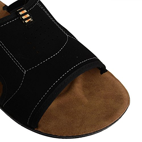 Footwear Sensation - zuecos hombre - Lynx Black