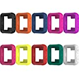 Garmin Forerunner 35 watch band TenYun Replacement Accessory Sport Colourful Soft Silicone Bracelet Strap Band For Garmin Forerunner 35 watch with Adapter Tools