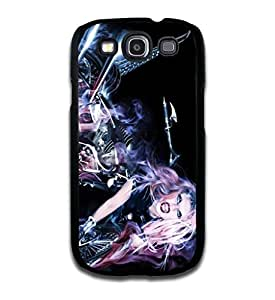 Tomhousomick Custom Design Women's Fashion Cases Sexy Singer Lady Gaga Case for Samsung Galaxy S3 Back Cover #248