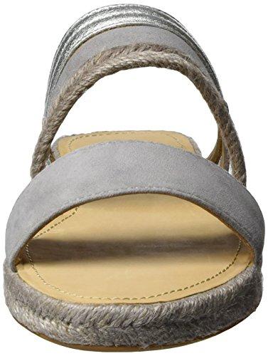 Marc O'Polo 70313881903601, Sandales Femme Gris (Grey/Silver 918)