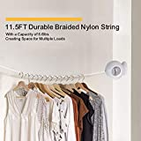 Drynatural Retractable Clothesline Wall Mounted